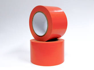 Orange PVC Masking Tape