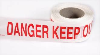BARRIER TAPE - DANGER KEEP OUT