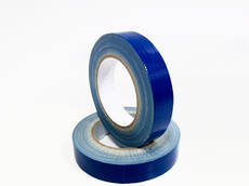 Hand Tearable Cloth Tape Blue 24mm x 30m