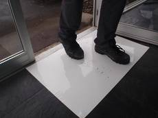 Tacky Dust Mat White