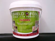 Shield 'n Peel Floor Protect