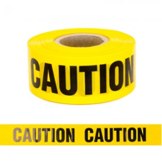 BARRIER TAPE – 'CAUTION'