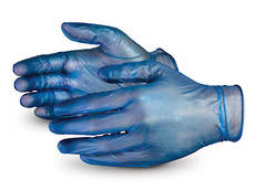 Vinyl Gloves Blue 50 pack, disposable gloves